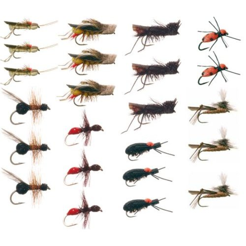 Fly Fishing Fly Assortment - Choosing the Correct Fly Size