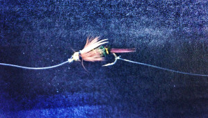 Dropper Attached to Bend of Hook - Tandem Fly Setup - Two Fly Setup