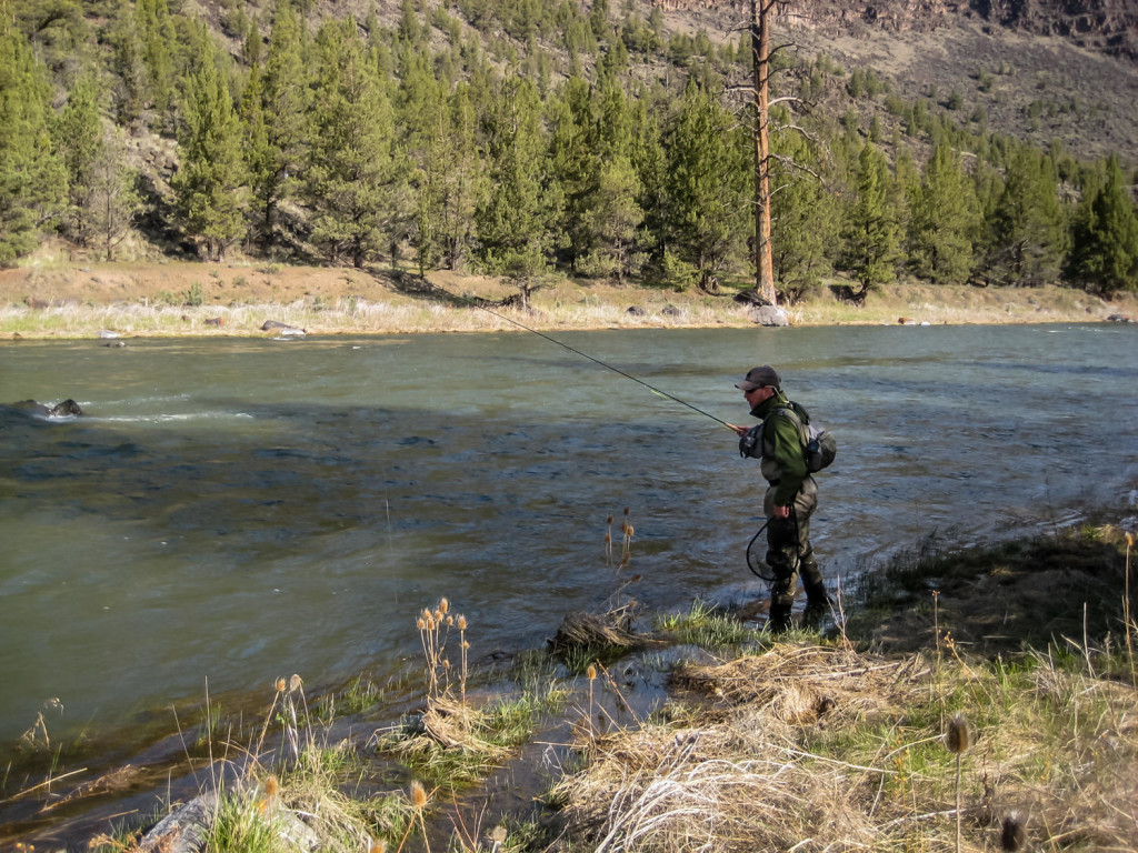High Water Fly Fishing - Fish the Edges