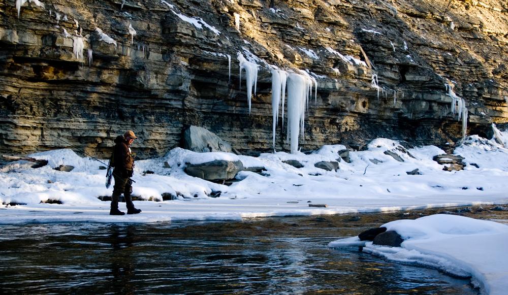 Winter Fly Fishing Tips - Fly Fishing Basics-2